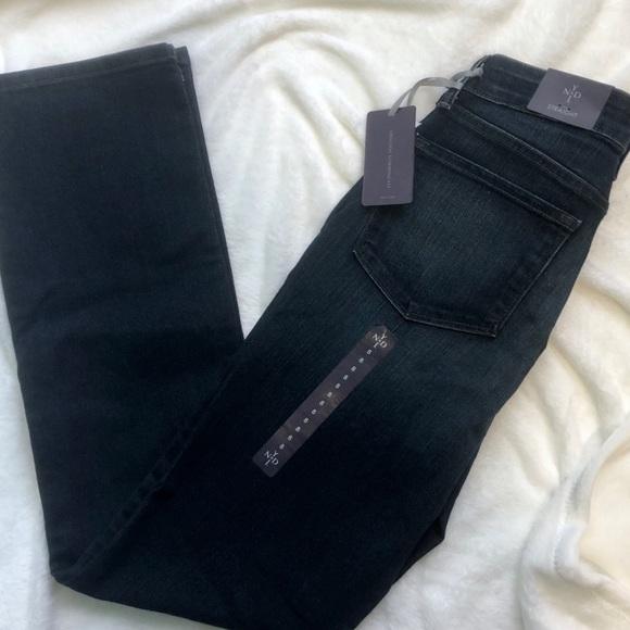 NYDJ Denim - NYDJ straight leg blue denim jeans Lift tuck 8